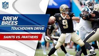 Drew Brees Tears Through Carolina Defense on TD Drive! | Saints vs. Panthers | NFL Wk 3 Highlights