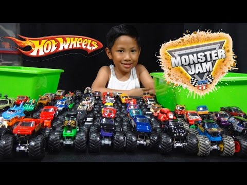 Xxx Mp4 Hot Wheels Monster Jam Truck Collection And Truck Loop Race Track 3gp Sex
