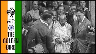 Mahatma Gandhi   British Pathé