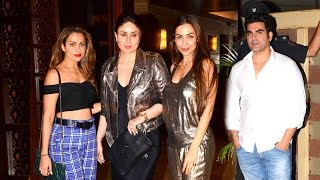 Kamal Amrohi's GRAND Party 2017 - Arbaaz,Malaika Arora,Kareena Kapoor,Karishma,Amrita