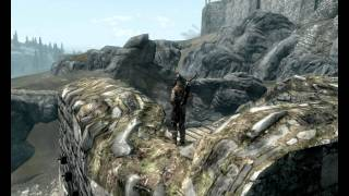 Skyrim Archery Ultra Long Range Shot At Draw Distance Limit 2