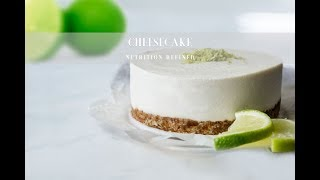 Raw Lime Cheesecake | Vegan, Paleo