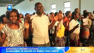 Tempo de bençãos-Apóstolo Onório Cutane