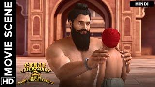 A cruel end for Banda Singh Bahadur and his son | Chaar Sahibzaade 2 Hindi Movie | Movie Scene