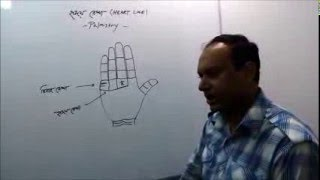 Palmistry in Bengali: Heart & marriage line