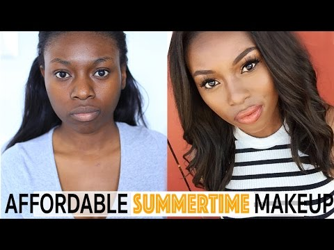 EVERYDAY AFFORDABLE SUMMER MAKEUP TRANSFORMATION   NYX, TOPSHOP, B. BEAUTY, BH Cosmetics and more! x