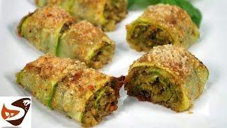 Involtini di zucchine al forno, velocissimi e buonissimi! – Ricette veloci
