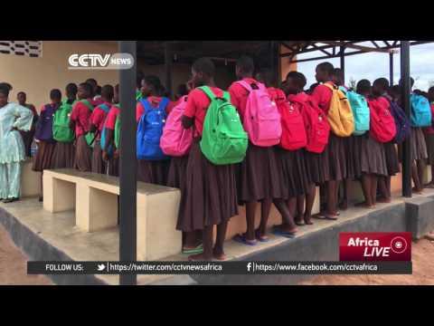 New initiative ensures teenage Tanzanian girls go to school