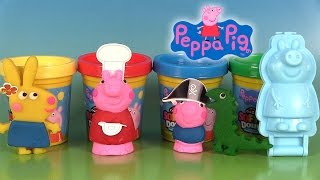 Peppa Pig Pâte à modeler Softee Dough Mould n' Play 3D Figure Maker
