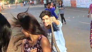 Epic Snake PRANK on Strangers (gone scary) ThrusT uS.. Prank in INDIA