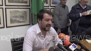 """Salvini: """"Nessuna crisi di governo, spero che M5S non pensi ad alleanza con Pd"""""""