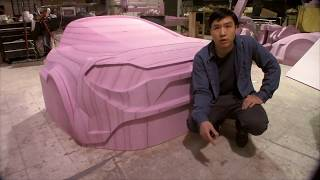 How I CNC built a car body in detail.
