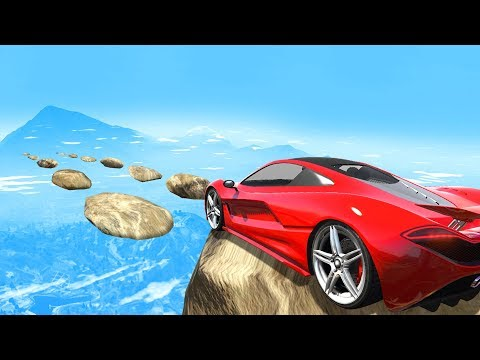 EXTREME MILE HIGH Skill Course GTA 5 Funny Moments