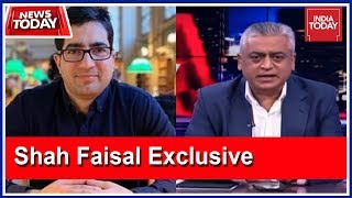 Not Joining Any Political Party : Shah Faesal, Resigned Kashmir IAS Officer Speaks To India Today