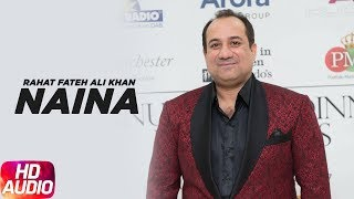 Naina ( Lyrical Video ) | Hero 'Naam Yaad Rakhi | Rahat Fateh Ali Khan | Speed Records