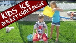 KIDS ICE BUCKET CHALLENGE