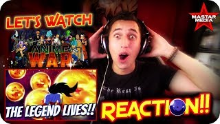 THE LEGEND OF ZARAMA!!  LET'S WATCH Anime War Episode 5 *DRAGON* REACTION!!