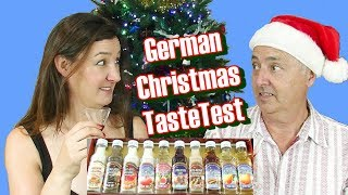 German Christmas Taste Test Chocolate and drinks edition