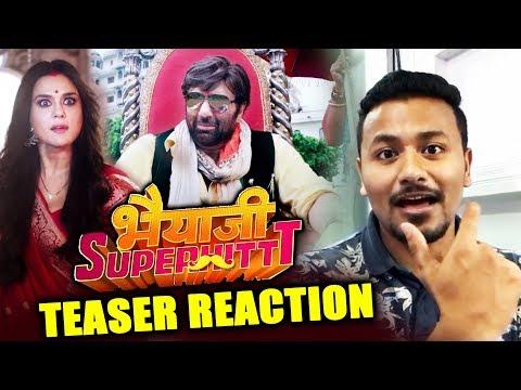 Bhaiaji Superhit Teaser   REVIEW   REACTION   Sunny Deol, Preity Zinta, Arshad Warsi, Shreyas