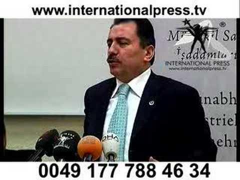 BBP Genel Başkanı Muhsin Yazıcıoğlu Berlin de