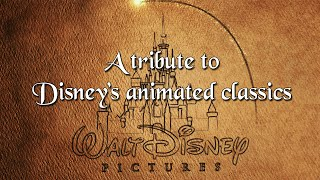 A tribute to Disney's animated classics