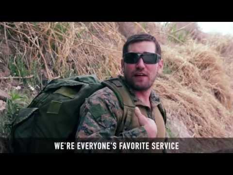 watch Epic Rap Battle: Marines vs. Army