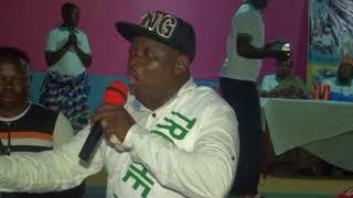 DAHOUE DOTO chante et remercie les organisateurs du FESTIVAL ADJAKANMABOU