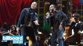 Future Brings Out Kendrick Lamar to Perform 'Mask Off' at the BET Awards 2017 | Billboard News