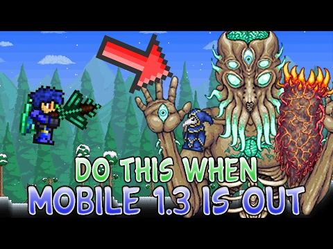 Xxx Mp4 5 Things You Should Do Once Terraria 1 3 For Mobile IOS Android Is Released 2017 3gp Sex