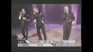 Westlife   I Don't Wanna Fight QVC 08 06 2000
