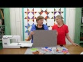 REPLAY: Make a Patriotic Periwinkle Table Topper with Jenny & Misty
