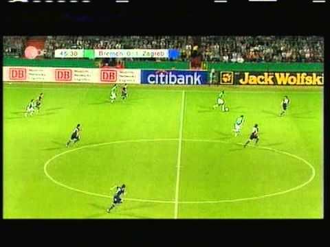 2007 (August 15) Werder Bremen (Germany) 2-Dinamo Zagreb (Croatia) 1 (Champions League)