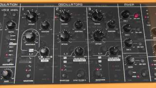 Studiologic Sledge  Synthesiser Tutorial 20 Oxygene Jean Michel Jarre