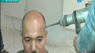 صبايا الخير   ريهام سعيد تقوم بضرب رجل بشنيور في رأسه أمام الكاميرات على الهواء تعرف على السر