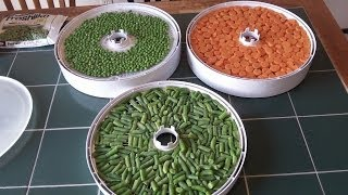 Food: #3 Dehydrating Vegetables