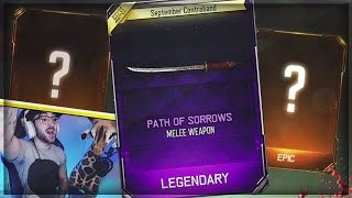 I GOT THE NEW WEAPON!! (INSANE BO3 SUPPLY DROP OPENING)