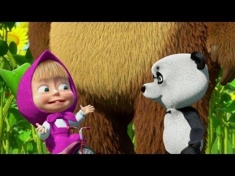 Маша и Медведь Masha and The Bear Даль� ий родстве� � ик 15 Серия