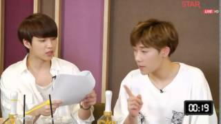 [ENG SUB] 150608 Inspirit Shining Night - Sunggyu quiz cut