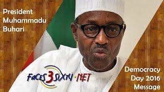 Nigeria's President Buhari's Full Democracy Day Speech - 29th May 2016