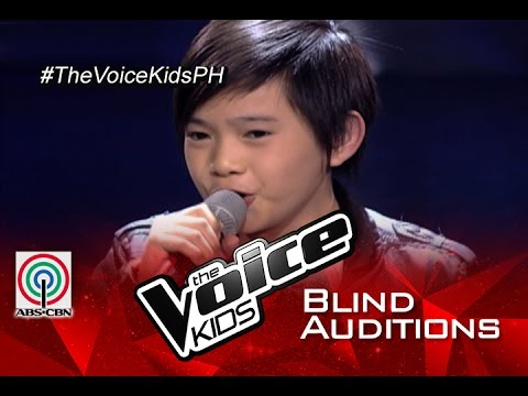 """The Voice Kids Philippines 2015 Blind Audition: """"I'll Be There"""" by Francis"""