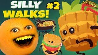 Silly Walk #2 🍊🚶🍍 [Annoying Orange Plays]