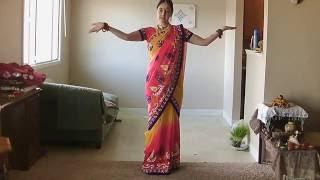 How to drape saree in Mermaid style