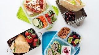 """How to Pack a Healthy Office Work Lunch or """"Big Kid"""" Lunches"""