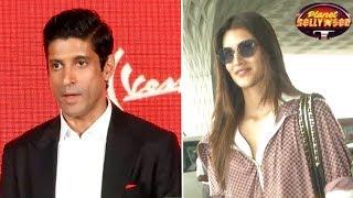 Farhan Akhtar Upset With Kriti Sanon | Bollywood News