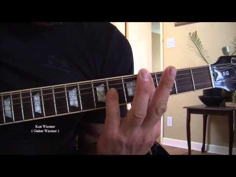 Guitar Chord G#m G Sharp Minor How to play