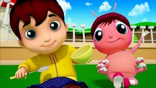 Little Miss Muffet | Junior Squad | Song For Babies | Kindergarten Nursery Rhymes by Kids Tv