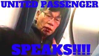 Redneck rant United Airlines passenger DR David Dao speaks after UA CEO appology