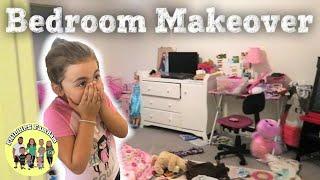 EXTREME BEDROOM MAKEOVER | TINA'S CHICKEN ENCHILADAS | PHILLIPS FamBam Vlogs