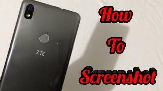 ZTE Blade Max 2s - How To Screenshot!!!