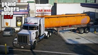 GTA 5 Roleplay - DOJ 317 - Fuel Delivery (Civilian)
